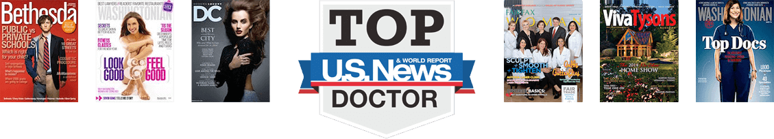 Northern VA top plastic surgeon media coverage